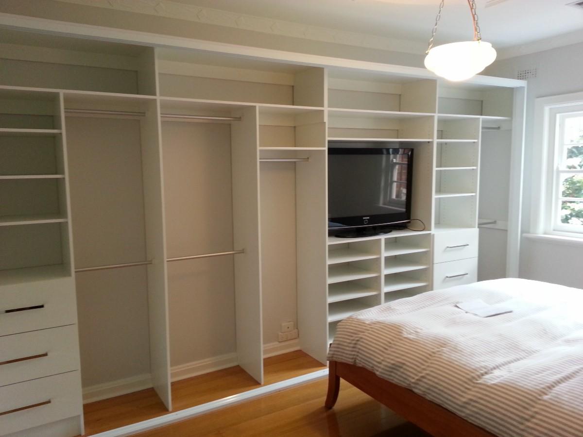 Встроенный шкаф своими руками 16